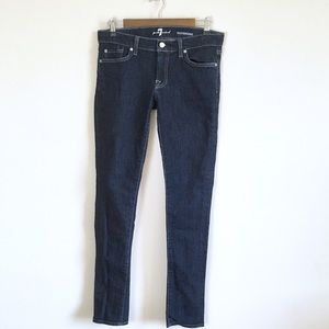 7 For All Mankind Roxanne Skinny Jeans, Size 29
